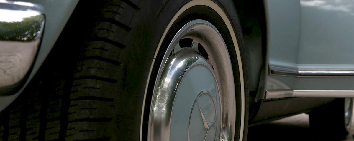 280 SL Pagode Seitenansicht