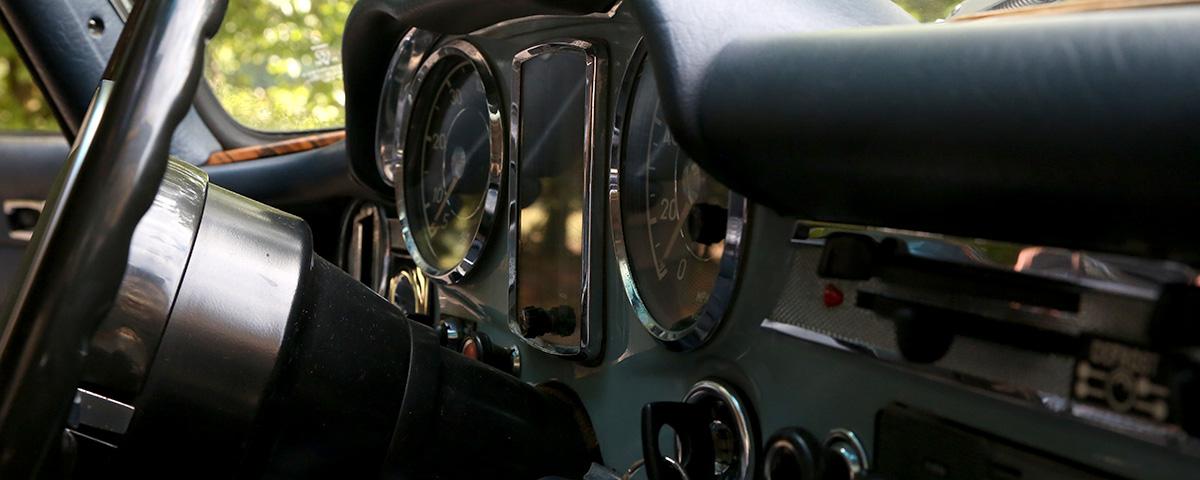 280 SL Pagode Innenansicht